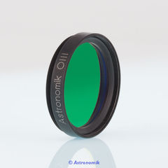 Photographic Astronomik Narrowband-Emissionline filter OIII-CCD with 6nm or 12nm FWHM and MFR Coating