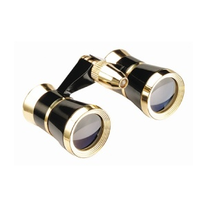 SYMPHONY Black/Gold Opera Glasses