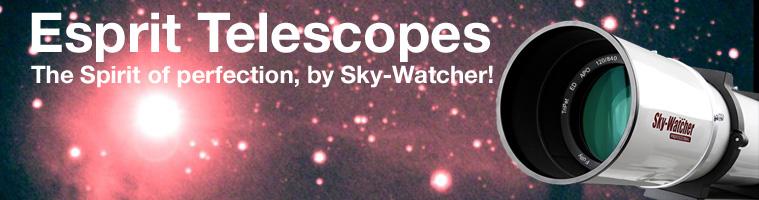 Sky-Watcher Esprit Apochromatic Triplet Refractor Telescopes