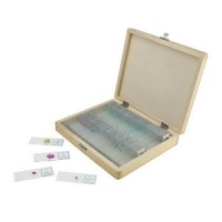 Celestron Prepared Microscope Slides (100 piece set)