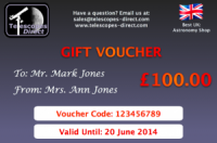 Telescopes Direct Gift Voucher £100