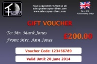 Telescopes Direct Gift Voucher £200